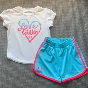 Under Armour 24 month 2 piece set